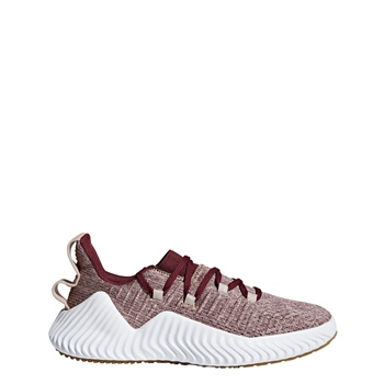 Adidas Womens AlphaBOUNCE Trainer - AshPearl/Maroon/White  - Click to view a larger image