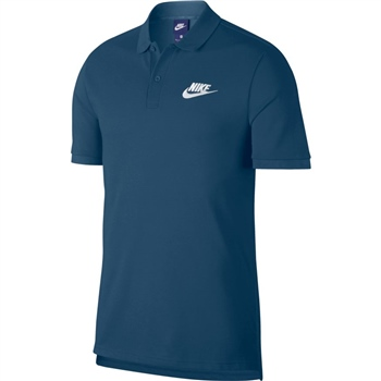 Nike Mens NSW Matchup Polo - Blue/White  - Click to view a larger image