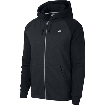 Nike Mens Optic FZ Hoodie - Black  - Click to view a larger image