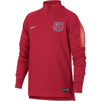 Nike Barcelona FCB Squad Drill Top 18/19 - Kids - Red  - Click to view a larger image