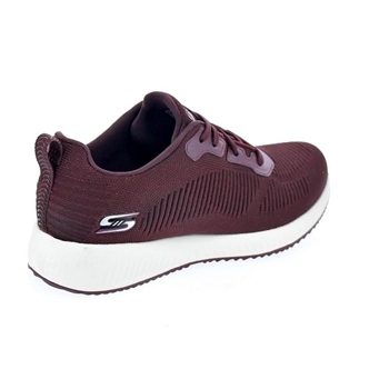 Skechers Womens Bobs Squad  - Total Glam - Burgundy