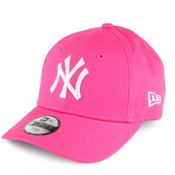 New Era 9FORTY NY Yankees Cap - Ladies - Pink  232fd2fbfd