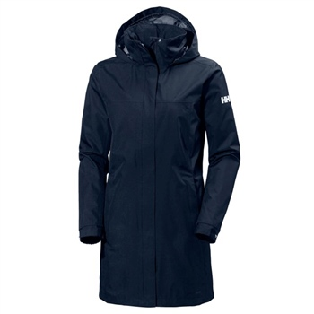 Helly Hansen Womens Aden Long Coat - Evening Blue (Navy)