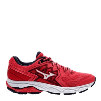 Mizuno Womens Wave Ultima 10 - Red/White  - Click to view a larger image