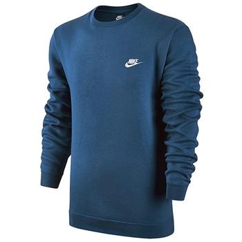 Nike Mens NSW Club Crew BB Top - Blue