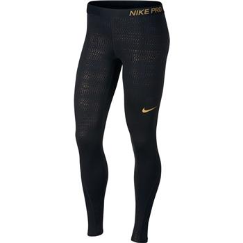 af16d2ebd79a1 Nike Womens Metallic Dot Print Leggings - Cream/Gold | AllSportStore.com