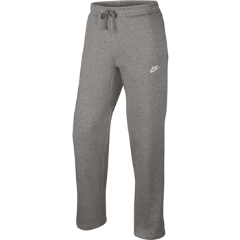Nike Mens Sportwear Fleece Club Pants - Grey  - Click to view a larger image