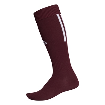 bd87929c8 Adidas SANTOS Sock 18 - Maroon White - Click to view a larger image