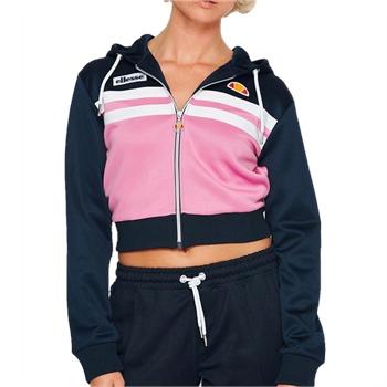 Ellesse Womens Bulito Full Zip Hoody - Navy/Pink