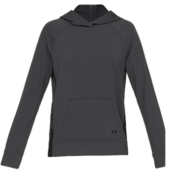 Under Armour Womens Featherweight Fleece Hoody - Black