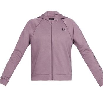 Under Armour Womens Rival Fleece Full Zip Hoodie - Purple
