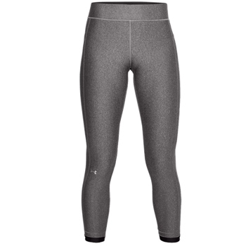 Under Armour Womens Armour Ankle Crop Leggings - Grey