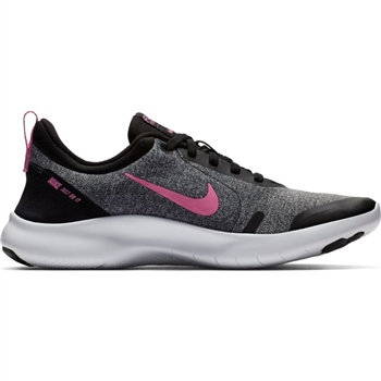 Nike Womens Flex Experience RN 8 - Grey/Pink/Black  - Click to view a larger image