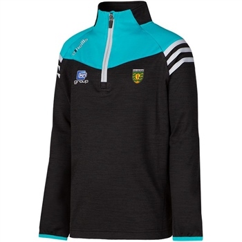 ONeills Donegal Colorado Brushed HZ Top - Black/Cyan/Silver
