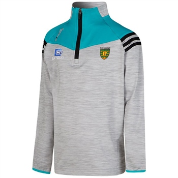 ONeills Donegal Colorado Brushed HZ Top - Silver/Black/Cyan