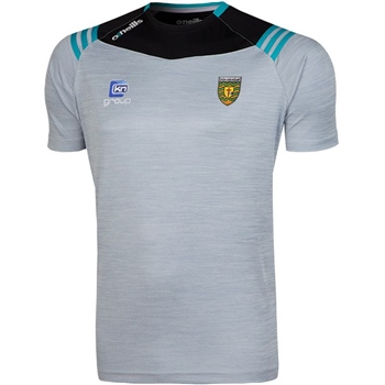 ONeills Donegal Colorado T-Shirt - Silver/Black/Cyan