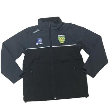 ONeills Donegal Jackson FZ Rain Jacket - Black/Black