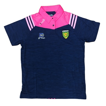 ONeills Donegal Colorado Ladies Polo - Navy/Pink