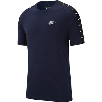 Nike Mens NSW HBR Swoosh T-Shirt - Dark Navy  - Click to view a larger image