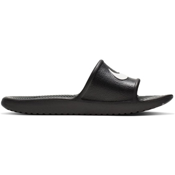 Nike Kids Kawa Shower Slide - Black/White  - Click to view a larger image