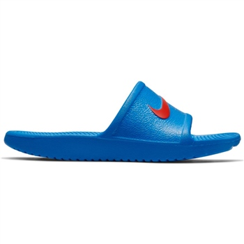 Nike Kids Kawa Shower Slide - Royal/Red