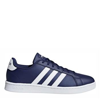 Adidas Mens Grand Court - Navy/White