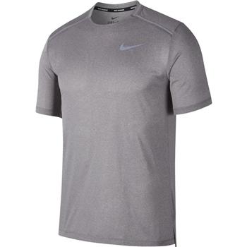 Nike Mens Dry Cool Miler S/S Top - Grey