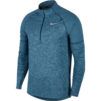 Nike Mens Element 1/2Zip Top 2.0 - Blue Marl