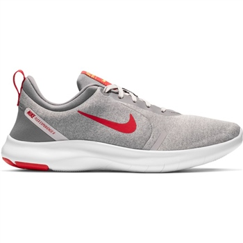 Nike Mens Flex Experience RN 8 - Grey/Red  - Click to view a larger image