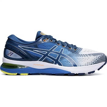 Asics Mens Gel Nimbus 21 - Blue/White