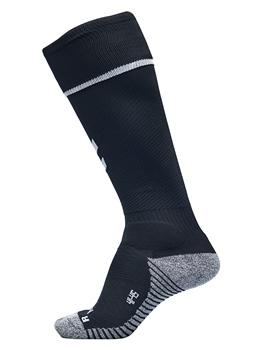 Amber /& Black Football Socks contrast sizes 2-6