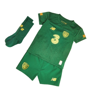 New Balance Ireland FAI Home Infant Kit 19/20 - Green  - Click to view a larger image