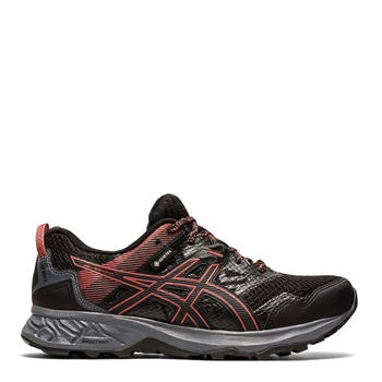 Asics WOMENS GEL SONOMA 5 G-TX - BLACK/DRIED ROSE  - Click to view a larger image