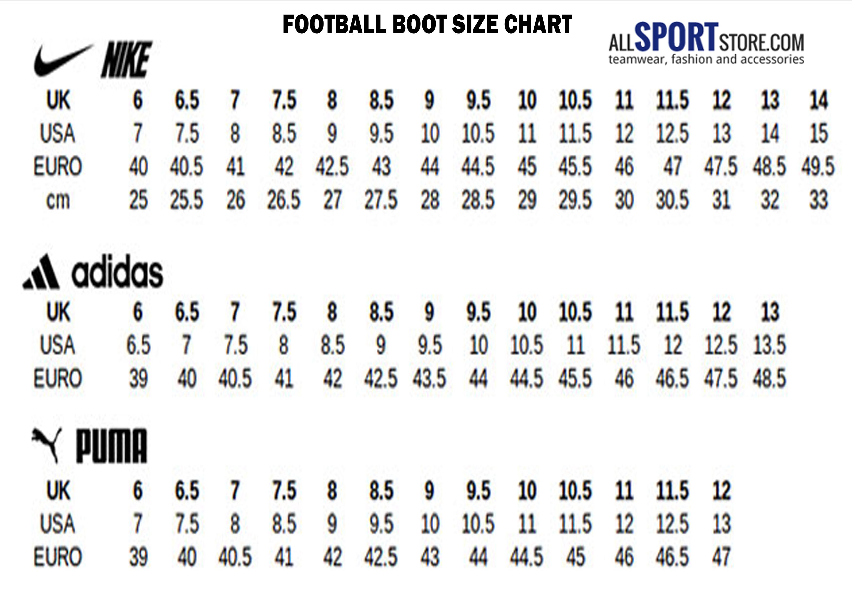 How Do Puma Shoe Sizes Compared To Nike